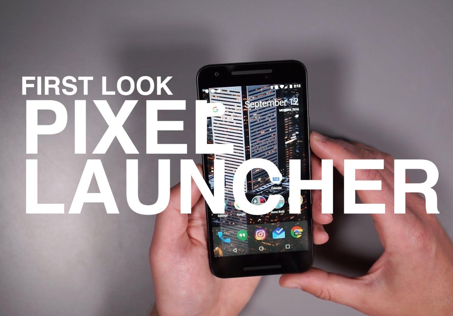 Google Pixel Launcher Review