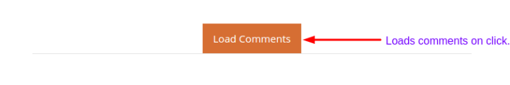 Load Comments on click