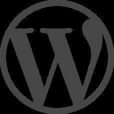 WordPress Logo RGB Simplified
