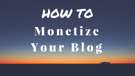 Easy Ways to Monetize Your Blog and Make Money Online