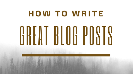 Awesome Tips for Writing Brilliant Blog Posts