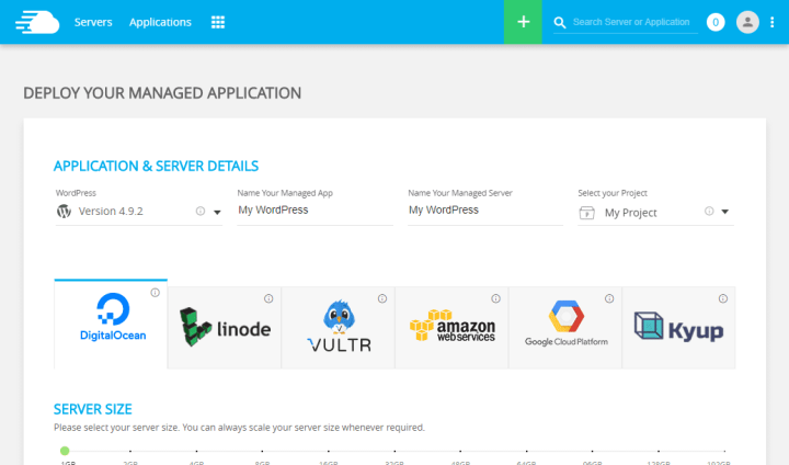 Deploy Cloudways Managed Application On DigitalOcean