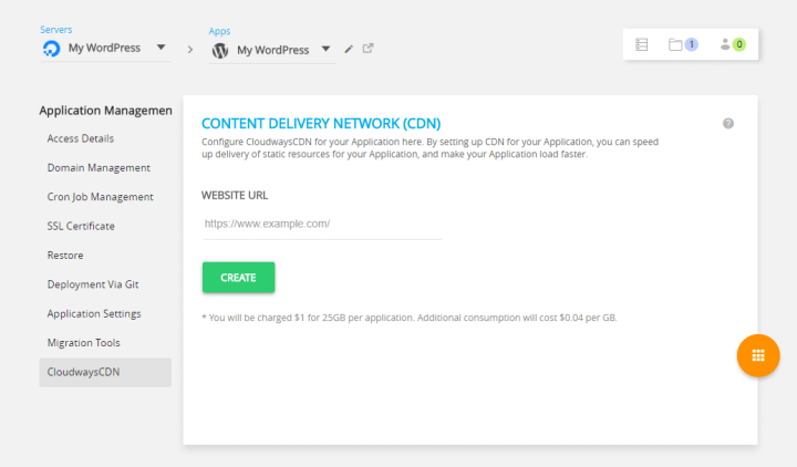 Cloudways Content Delivery Network - CloudwaysCDN
