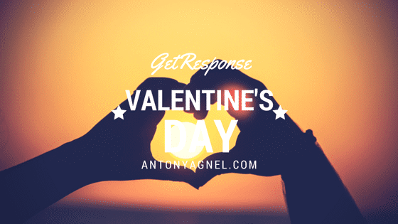 GetResponse Email Marketing Tool Discount On Valentine's Day