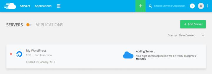 Deploy Cloudways WordPress Server - First Run
