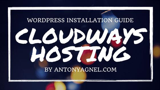 How to Install WordPress on DigitalOcean using Cloudways
