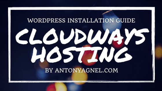 How to Install WordPress on DigitalOcean using Cloudways