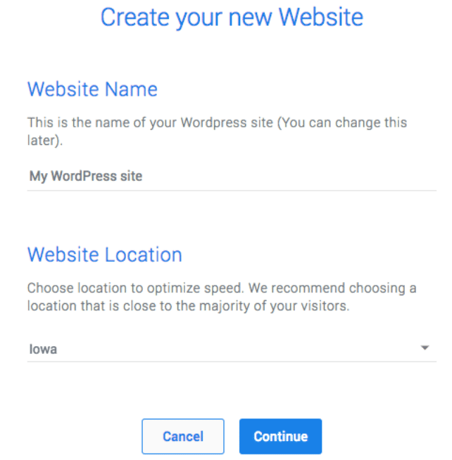 Deploy WordPress Site On Templ.io