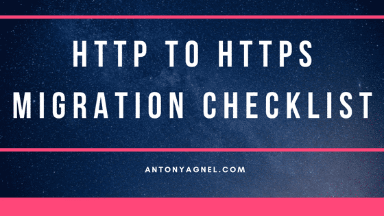 14-point checklist for a successful HTTP to HTTPS migration