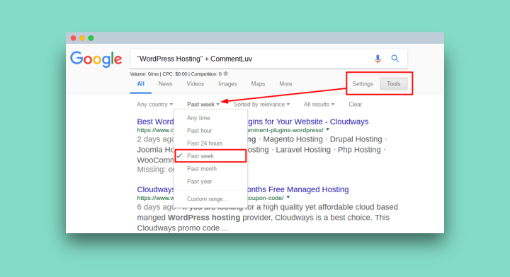 how to change google search back to english