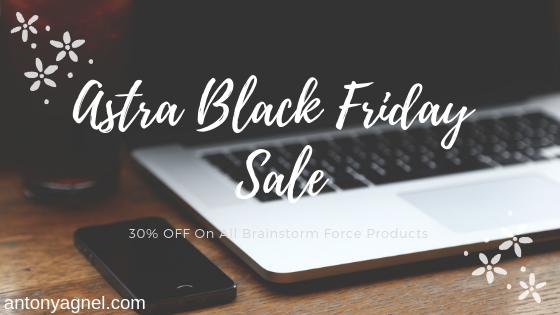 Astra WordPress Theme Black Friday Sale